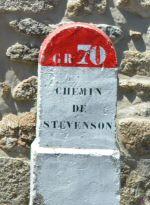 Borne GR70 - Chemin Stevenson