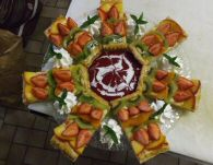Dessert repas au Refuge du Moure
