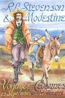 Carte postale Modestine et R.L. Stevenson (Édition des 3 Vallées)