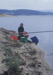 Pêche au coup sur le Lac de Naussac, Lozère