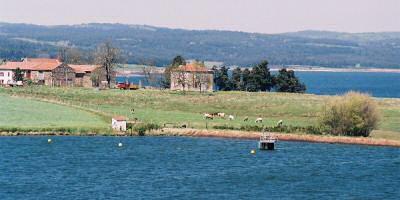 Le lac de Naussac (Lozère)
